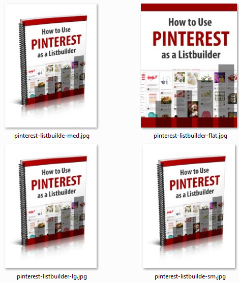 Pinterest as a Listbuilder eCover