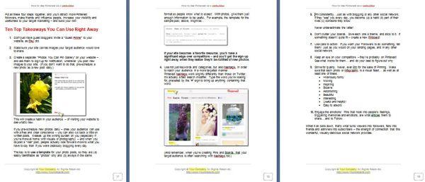 Pinterest as a Listbuilder Report