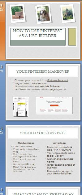 Pinterest as a Listbuilder Slide1