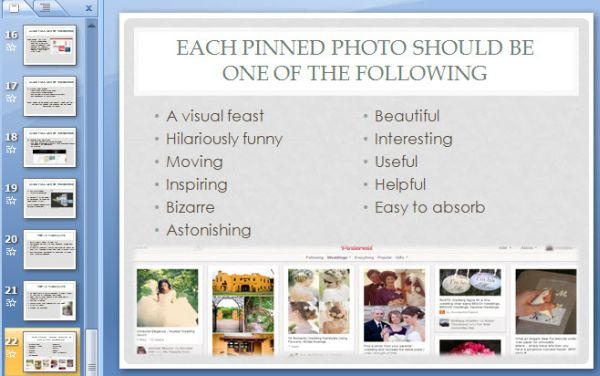 Pinterest as a Listbuilder Slide2