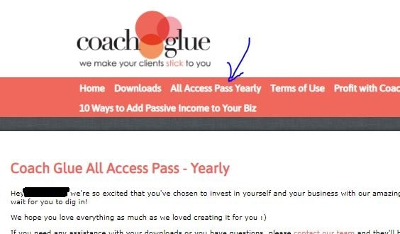 Coachglue Yearly VIP Club