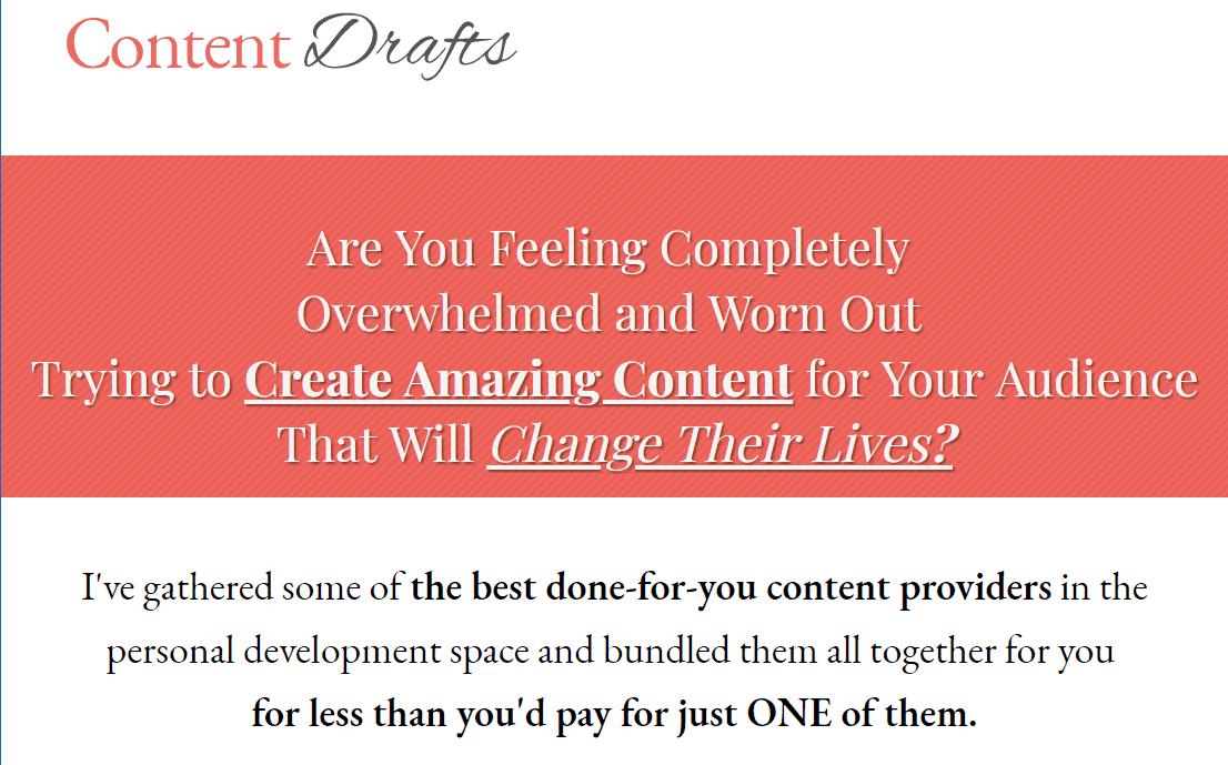 ContentDrafts.com