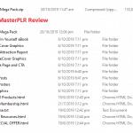 MasterPLR.com Reviews