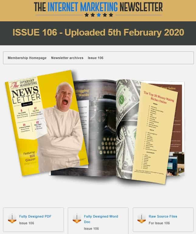 TheinternetMarketingNewsletter Issue 106